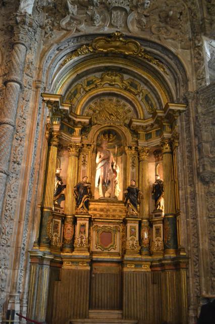 リスボン ジェロニモス修道院: マヌエル様式とはアジアの文化が入る