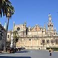 モスク跡に建造されたスペイン最大の聖堂