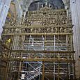 祭壇 修理中