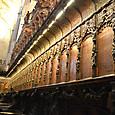 中央礼拝堂 聖歌隊席