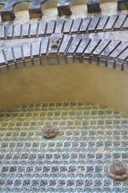 シントラ ペーナ宮殿: 美しいアズレージョ マヌエル様式